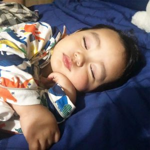 Aksi Tidur Arif Jiwa Asyraf