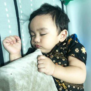 Arif Jiwa Asyraf Comel Sedang Tidur