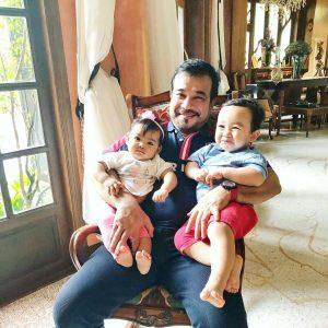 Datuk K Bersama Anaknya Siti Aafiyah Dan Cucunya Arif Jiwa Asyraf
