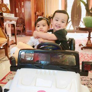 Foto Arif Jiwa Asyraf Dan Siti Aafiyah Ketika Kecil