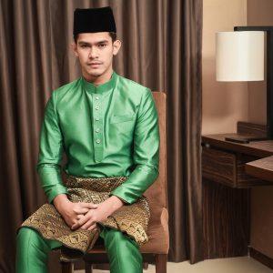 Foto Nafiz Muaz Berbaju Melayu Tradisi