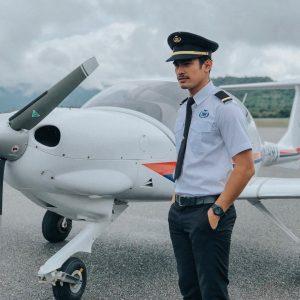 Foto Pilot Nafiz Muaz
