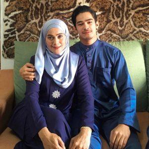 Nafiz Muaz Bersama Ibu Tercinta