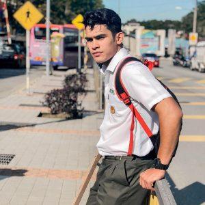 Nafiz Muaz Sebagai Pelajar Sekolah