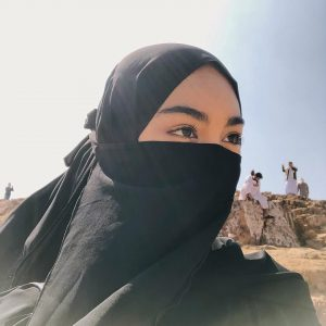 Gaya Sharifah Rose Berniqab