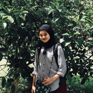 Gambar Syafa Wany Bertudung