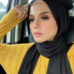 Model Husna Mustaffa Cantik Berhijab