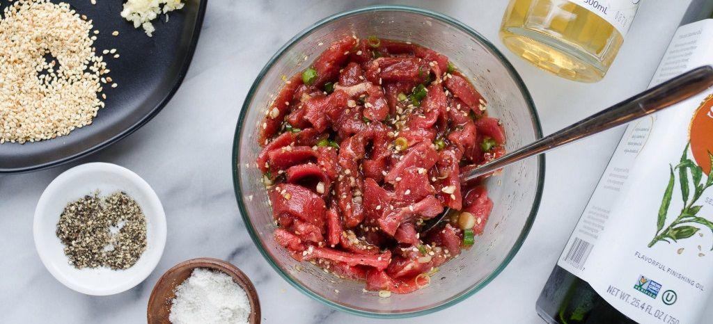 Perap Daging Bibimbap