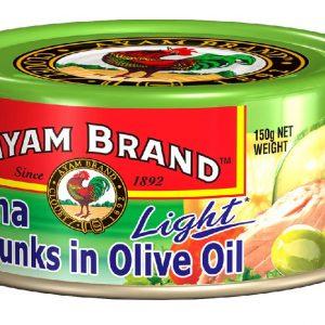Ayam Brand Tuna Chunks Olive Oil