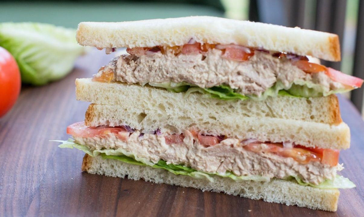 Simple Sandwich Tuna