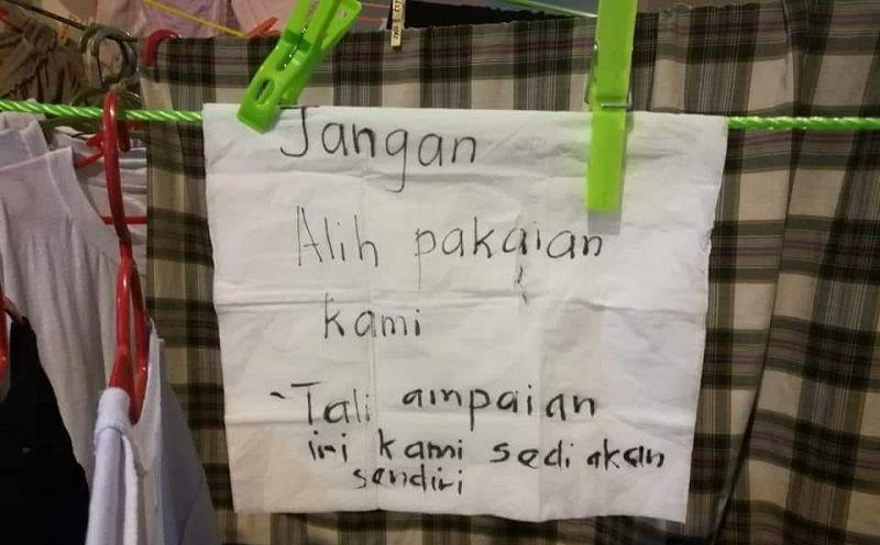 Cuci Baju Ketika Musim Haji
