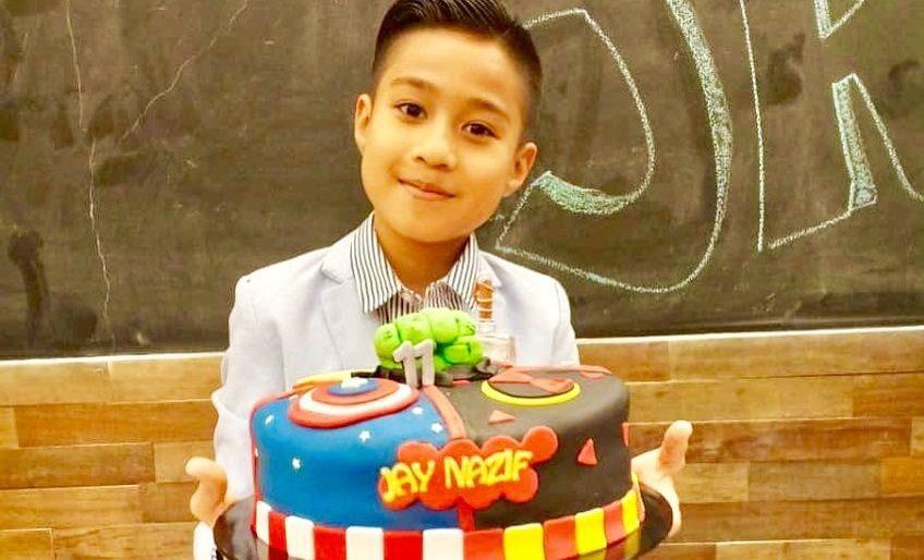Foto Jay Nazif Sambut Birthday