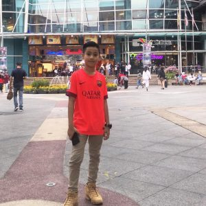 Gambar Jay Nazif Di Stadium