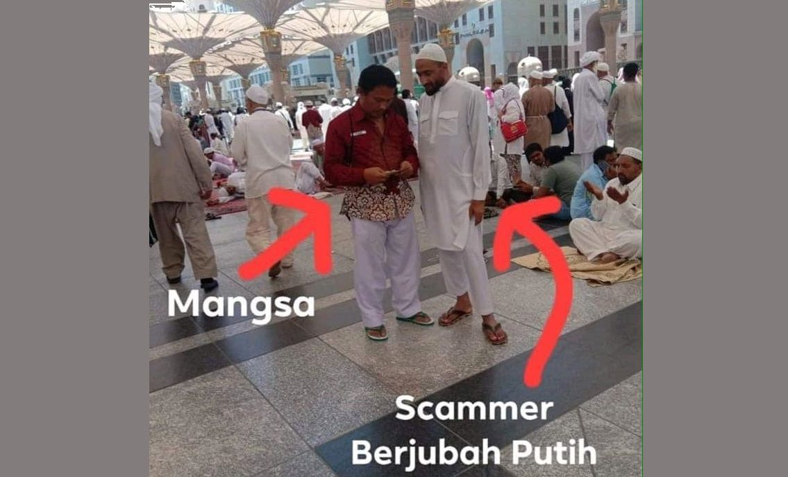 Scammer Di Madinah