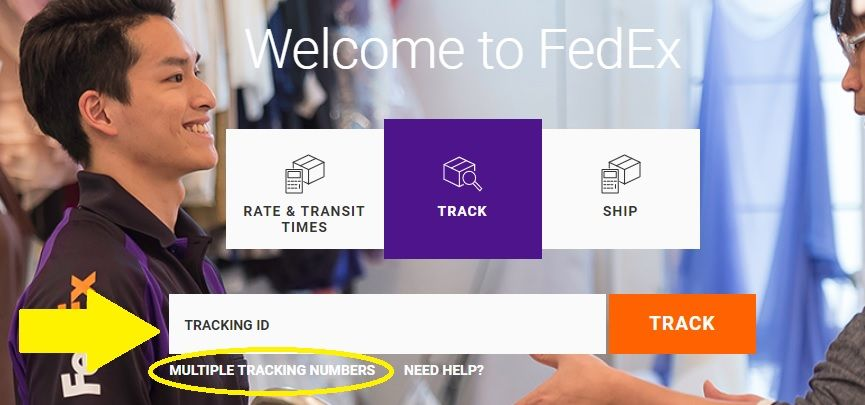 Tracking Barang Fedex