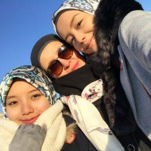 Foto Keluarga Bercuti Mira Filzah