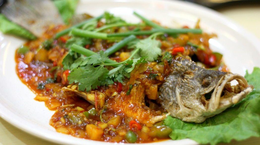 Masakan Ikan Siakap 3 Rasa