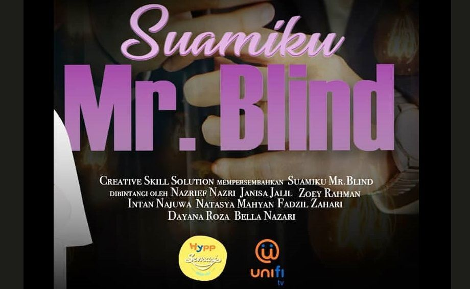 Poster Drama Suamiku Mr Blind