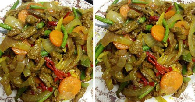 Resepi Daging Goreng Kunyit (Mudah, Cepat dan Sedap)