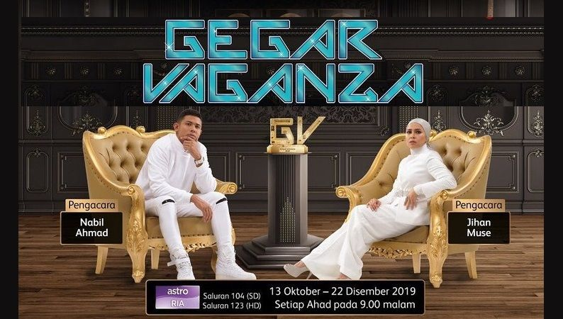 Poster Pengacara Gegar Vaganza 6 2019