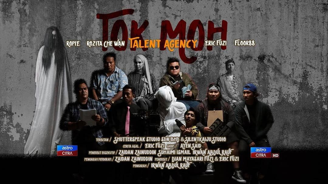 Poster Tok Moh Talent Agency