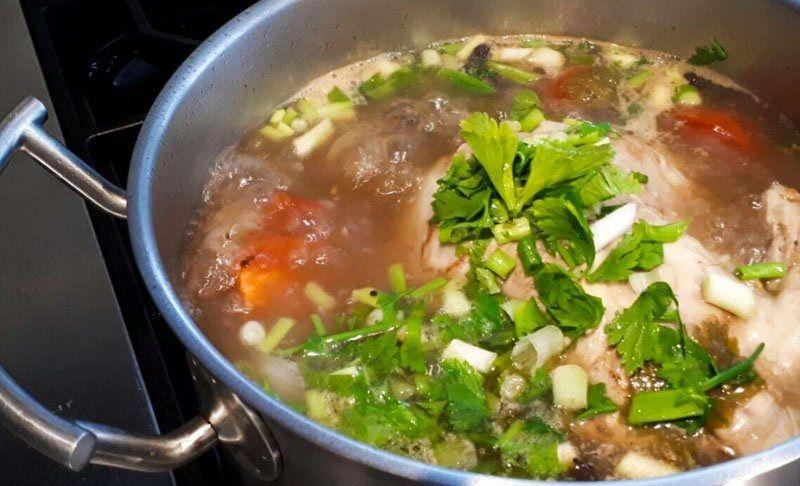 Sup Ayam Mendidih