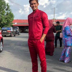 Zaki Azeman Gaya Baju Melayu Sendat