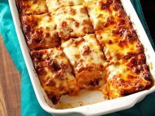 Lasagna Siap Untuk Dimakan
