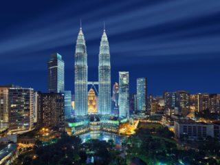 Night View Of KLCC Malaysia