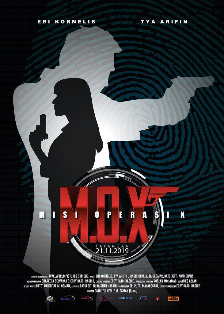 Poster MOX Misi Operasi X