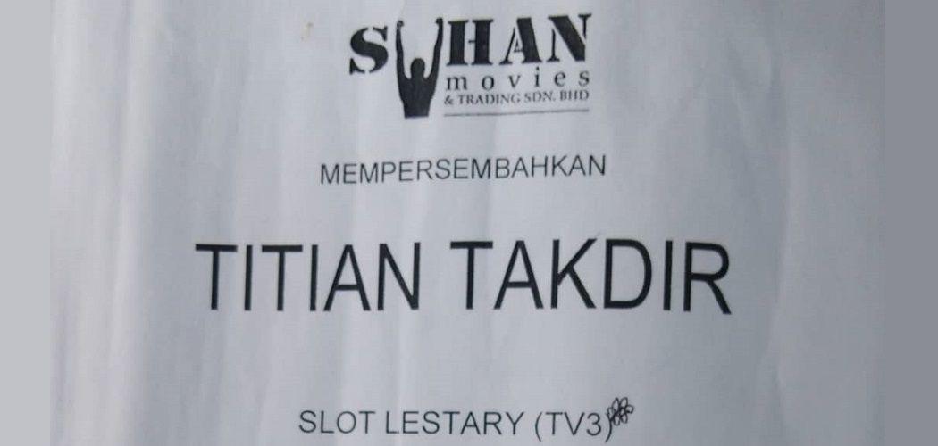 Scane Drama Titian Takdir TV3