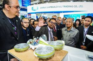 Tun M Lihat Model Skala Kecil Kereta Terbang Malaysia Aerodyne Group