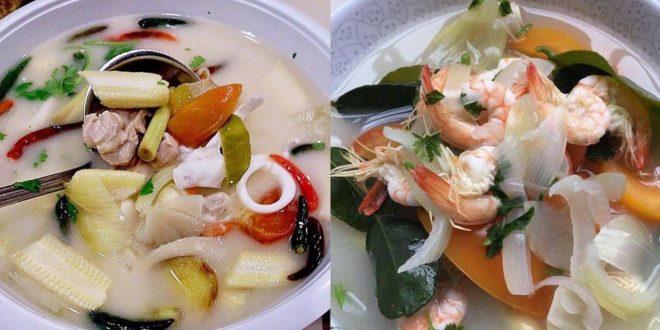 Cara Masak Tomyam Putih Ala Thai Yang Sedap