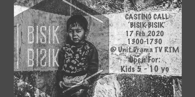Poster Ujibakat Telefilem Bisik Bisik TV2
