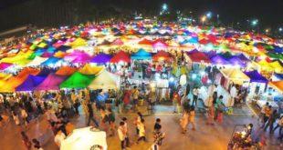Suasana Pasar Malam