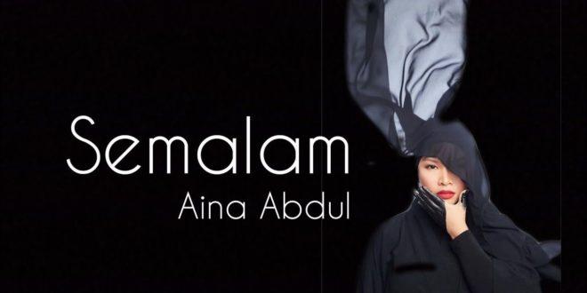 Lirik Lagu Semalam Aina Abdul