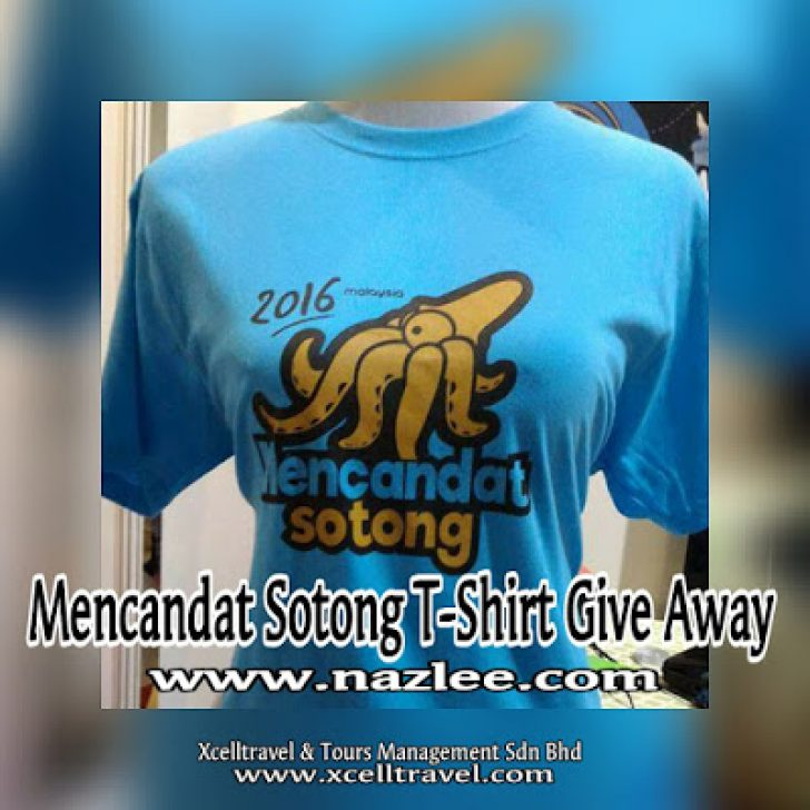 Permalink to Mencandat Sotong T-Shirt Give Away 2016