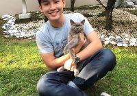 Alvin Chong Dan Kucing Comel Kesayangan