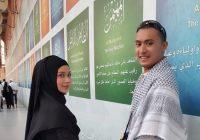 Anzalna Nasir Cantik Bertudung Bersama Husband