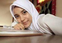 Awek Sekolah Bertudung Comel Farhanna Qismina