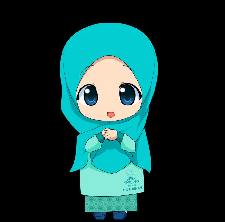 Permalink to Kartun Chibi Muslimah Comel dan Lucu