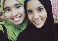 Farhanna Qismina Selfie Bersama Kawan