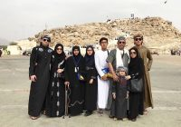 Foto Keluarga Datin Maziah Mohamed Ketika Menunaikan Umrah
