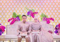 Gambar Kahwin Deena Emir Dan Suami Saharul Ridzwan