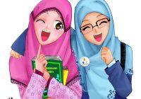 Gambar Kartun Muslimah Comel Dan Lucu