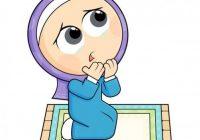 Gambar Kartun Muslimah Solat