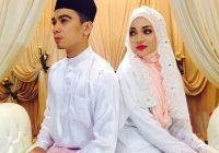 Gambar Perkahwinan Amar Baharin dan Amyra Rosli – Sama Cantik