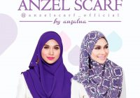 Koleksi Tudung Anzel Scarf By Anzalna