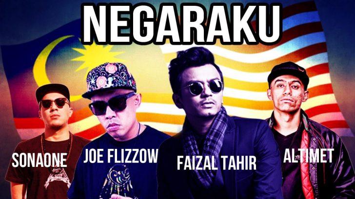 Permalink to Negaraku – Faizal Tahir Featuring Joe Flizzow, Altimet dan Sonaone (Lirik dan Muzik Video)