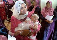 Serina Chef Wan Dan Baby Semasa Majlis Aqiqah Dan Cukur Jambul